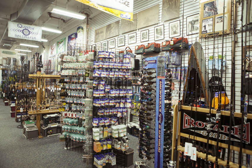 capitol fishing tackle co. - manhattan sideways, Fishing Rod